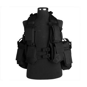 VESTA TACTICA MODEL BACK PACK ( NEGRU) imagine
