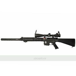 GT ADVANCED - GR25 SNIPER - FULL METAL - BLACK imagine
