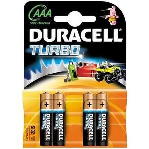 BATERIE DURACELL AAA (R3) TURBO MAX imagine