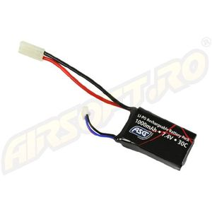 LIPO - ACUMULATOR 7.4V - 1000 MAH - MINI-TYPE imagine