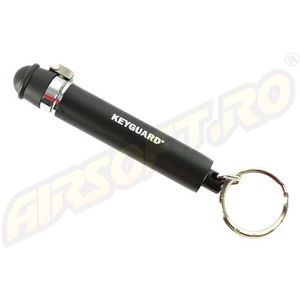 SPRAY IRITANT LACRIMOGEN MODEL KEYGUARD - BLACK - 4 G imagine
