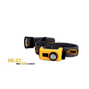 LANTERNA FRONTALA MODEL HL22 XP-E R4 - GALBENA imagine