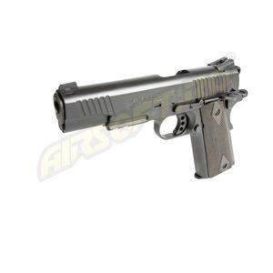 COLT M1911 RAIL GUN - GBB - CO2 - BLACK MAT imagine