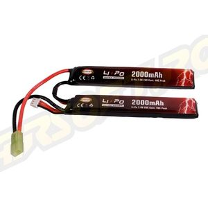 ACUMULATOR LI-PO ULTRA POWER - 7.4V - 2000MAH - 20C - 40C PEAK imagine