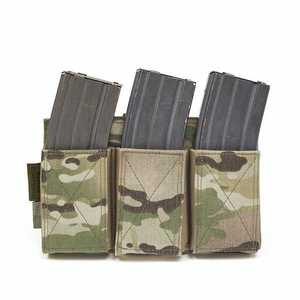EMP TRIPLE ELASTIC MAGAZINE POUCH - MULTICAM imagine
