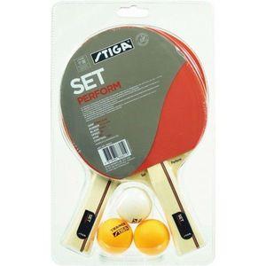 Stiga PERFORM SET roșu - Set tenis de masă imagine