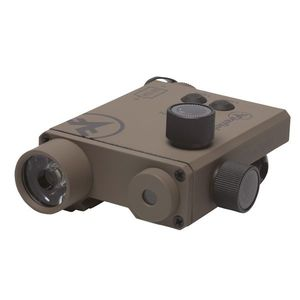 CHARGE XLT FLASHLIGHT AND GREEN LASER SIGHT - DARK EARTH imagine