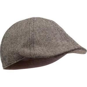 Șapcă Plată Tweed Bej imagine