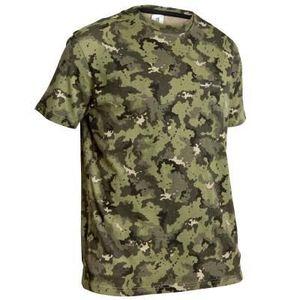 Tricou Vânătoare 100 Verde imagine