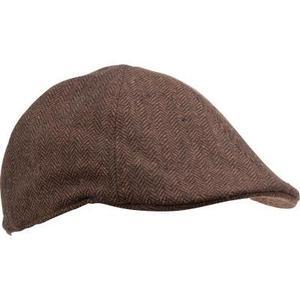 Şapcă Tweed Plată Maro imagine
