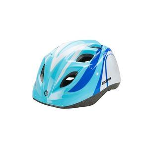 Casca BikeFun Junior Albastru/Alb imagine