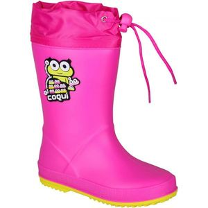 Coqui RAINY COLLAR roz 24 - Cizme copii imagine