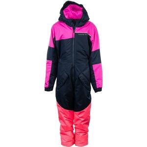 ALPINE PRO BASTO roz 104-110 - Costum iarnă copii imagine
