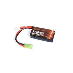 LIPO - ACUMULATOR ULTRA POWER 7.4V - 1300 MAH - 20C - MINI-TYPE imagine
