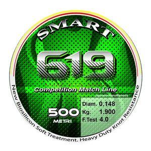 Fir monofilament Smart 619 Competition 150m Maver (Diametru fir: 0.10 mm) imagine
