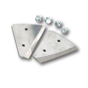 Cutite pentru Freza Curved Ice Auger Blades 5*130MM Trakko imagine