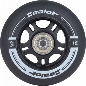 Zealot 84-82A WHEELS + BEARINGS 4PCS NS - Set roți role imagine