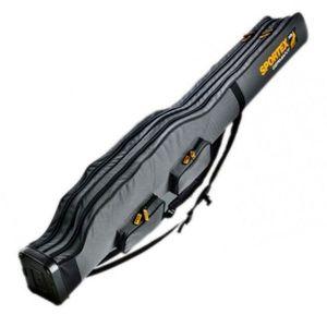 Husa Rigida Sportex Super Safe V Grey, 2 compartimente (Lungime husa: 190 cm) imagine
