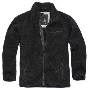 Brandit geacă fleece Teddyfleece, neagră imagine