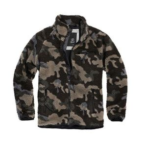 Brandit Geacă fleece Teddyfleece, darkcamo imagine