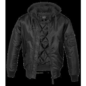 Geacă Brandit MA1 Hooded bomber, negru imagine
