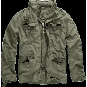 Brandit jachetă light oliv de tranziție britannia imagine