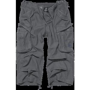 Brandit Vintage Industry pantaloni scurți 3/4, antracit imagine