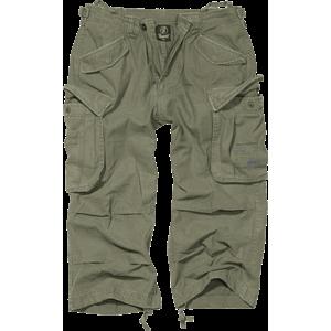 Brandit Vintage Industry pantaloni scurți 3/4, oliv imagine