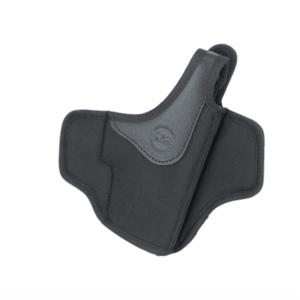 Falco Mayer OWB pancake toc naylon cu siguranța pentru degetul mare pentru curea Glock 17, negru drept imagine