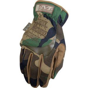 Mănușile tactice Mechanix FastFit woodland camo imagine