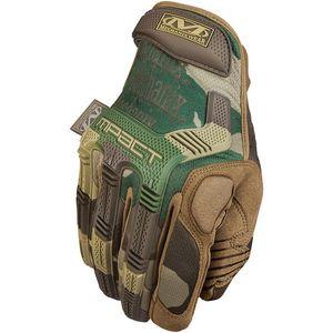 Mechanix M-Pact mănuși împotriva impactului woodland camo imagine