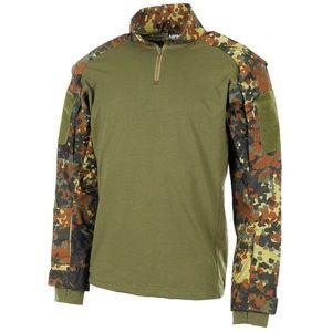MFH Combat tricou tactic cu mânecă lungă, flecktarn imagine