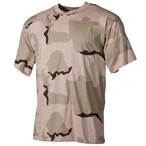 MFH tricou camuflaj 3 col desert, 160g/m2 imagine