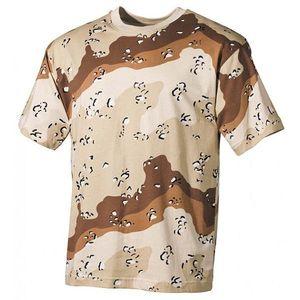 MFH tricou camuflaj 6 col desert, 160g/m2 imagine