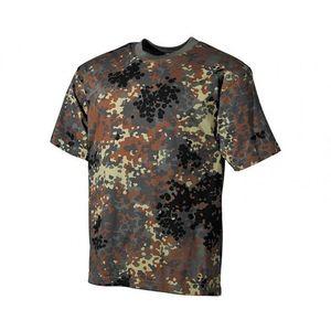 MFH tricou camuflaj german flecktarn, 170g/m2 imagine