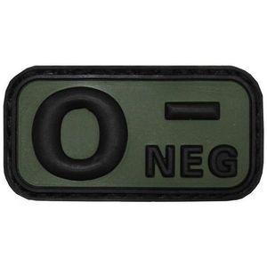 MFH Petic 3D 0- Negative, 5x2, 5cm, negru imagine