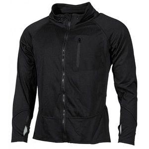 Bluză tactică MFH US cu mânecă lungă, culoarea neagră imagine