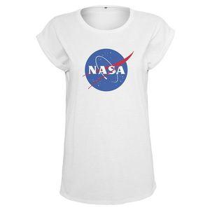 NASA tricou pentru femei Insignia, alb imagine