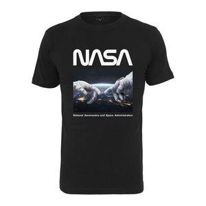 NASA tricou bărbați Astronaut Hands, negru imagine