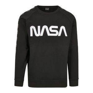 NASA Wormlogo Rocket hanorac pentru bărbați, negru imagine