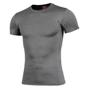 Pentagon Apollo Tac-Fresh tricou, gri imagine