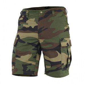 Pentagon BDU pantaloni scurți 2.0 Rip Stop, woodland imagine