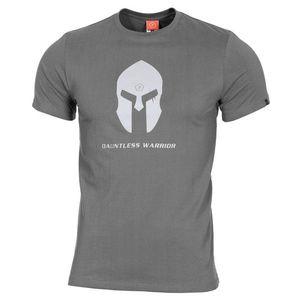 Pentagon Spartan Helmet tricou, gri imagine
