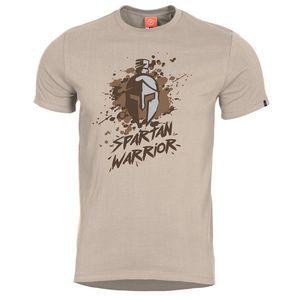 Pentagon Spartan Warrior tricou, kaki imagine