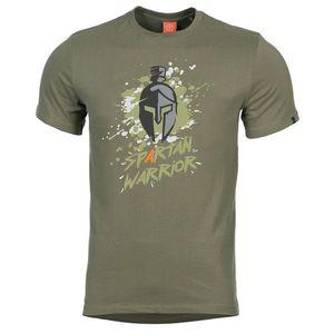 Pentagon Spartan Warrior tricou, oliv imagine
