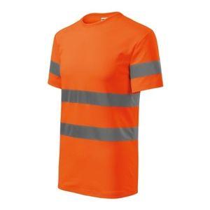Rimeck HV Protect Tricou reflectorizant de siguranță, portocaliu fluorescent imagine
