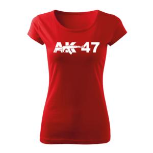 WARAGOD tricou damă AK47, roșu 150g/m2 imagine
