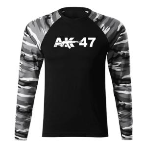 WARAGOD Fit-T tricou cu mânecă lungă ak47, metro 160g/m2 imagine