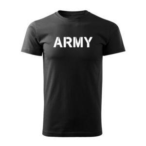WARAGOD tricou Army, negru 160g/m2 imagine