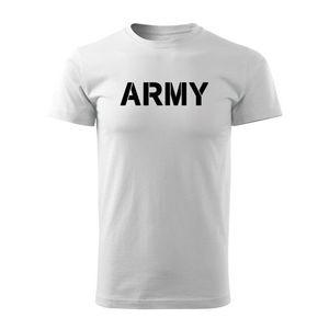 WARAGOD tricou Army, alb 160g/m2 imagine